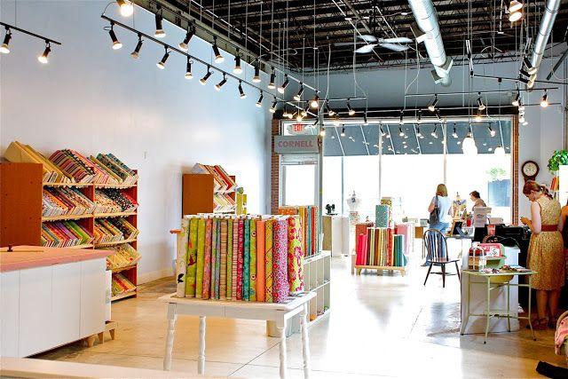 Do you have a favorite fabric shop?   MADE