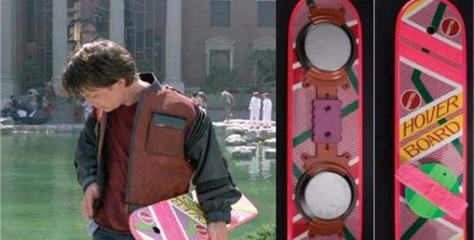 "The flying scooter from ""Back to the future"" is already a reality"