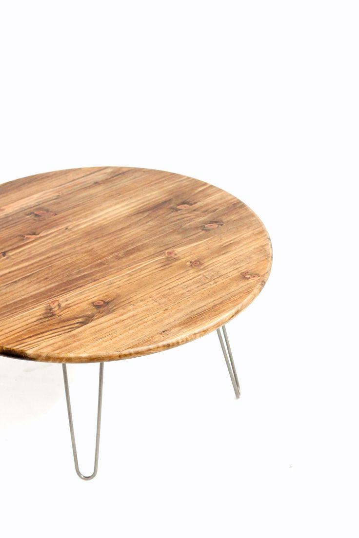Best 25 hairpin leg coffee table ideas on pinterest diy hairpin leg coffee table tutorial deliacreates geotapseo Images