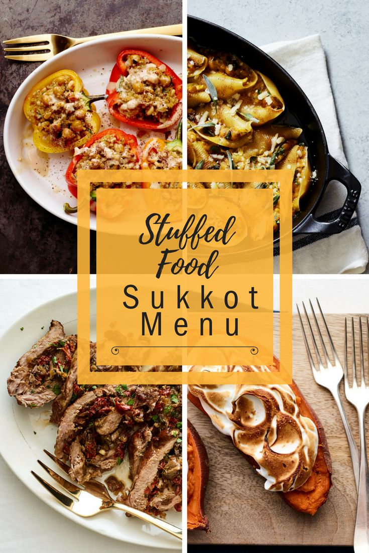 Stumped with what to serve on Sukkot, Hoshana Rabba and Simchat Torah… just stuff it with these easy recipes, and you're all good!