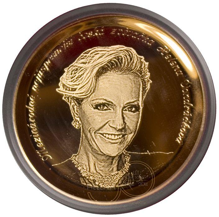 HELENA 50 LET NA SCÉNĚ | Pamětní medaile od České mincovny