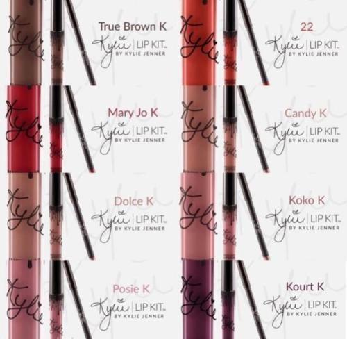 Kylie Jenner Lip Kit Set Lipstick Matte & Lip Liner | Full Set #KylieJennerCosmetic