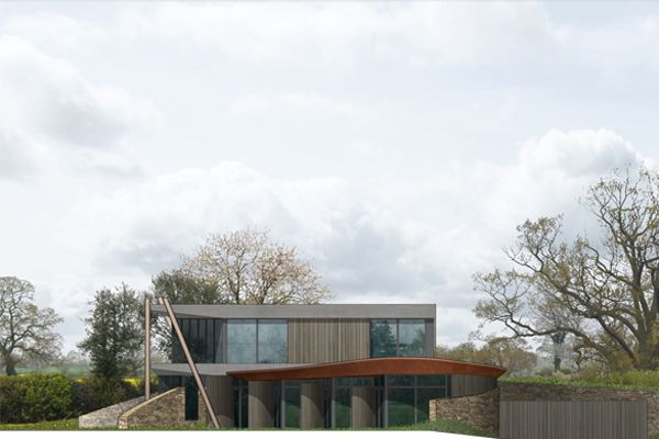 Groundbreaking house can power itself and two neighbours
