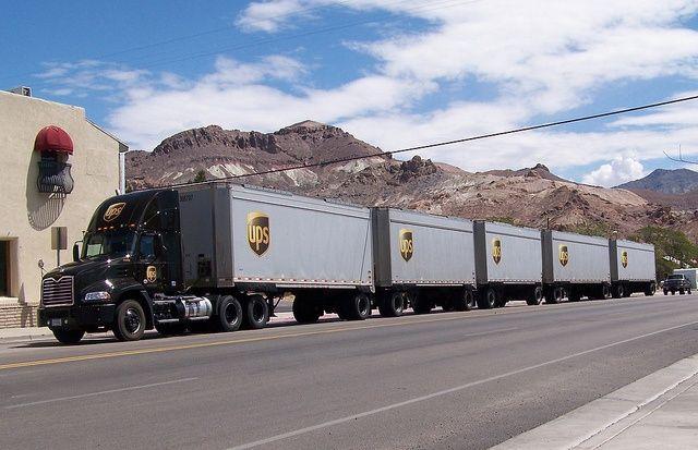 Mack Ups Mensajer 237 A Road Train Transporte Pinterest