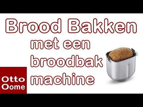 Brood bakken met broodbakmachine Panasonic SD2500WXE - YouTube