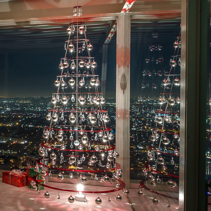 Silver Christmas Trees