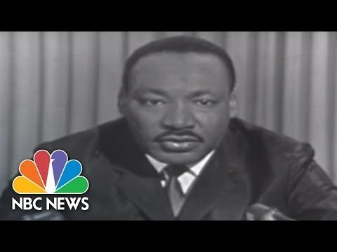 On March 28, 1965, Martin Luther King, Jr. appeared on NBC's Meet The Press …