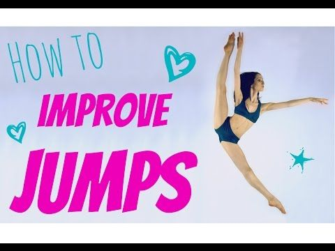 How to Improve Jumps (get oversplits in your leaps!) - YouTube