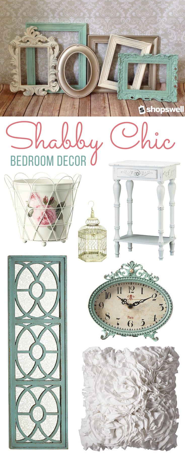 Diy shabby chic home decor - 20 Home Decor Essentials For The Shabby Chic Bedroom