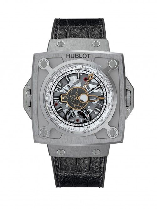 Antikythera SunMoon device by Hublot features Sun and Moon indications