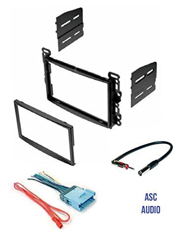 ASC Audio Double Din Car Stereo Dash Kit, Wire Harness, and Antenna Adapter for some Chevrolet - Vehicles Listed Below. For product info go to:  https://www.caraccessoriesonlinemarket.com/asc-audio-double-din-car-stereo-dash-kit-wire-harness-and-antenna-adapter-for-some-chevrolet-vehicles-listed-below/