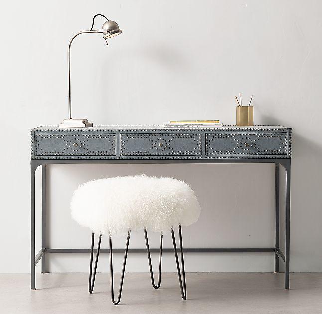 Kitson 3 Drawer Desk