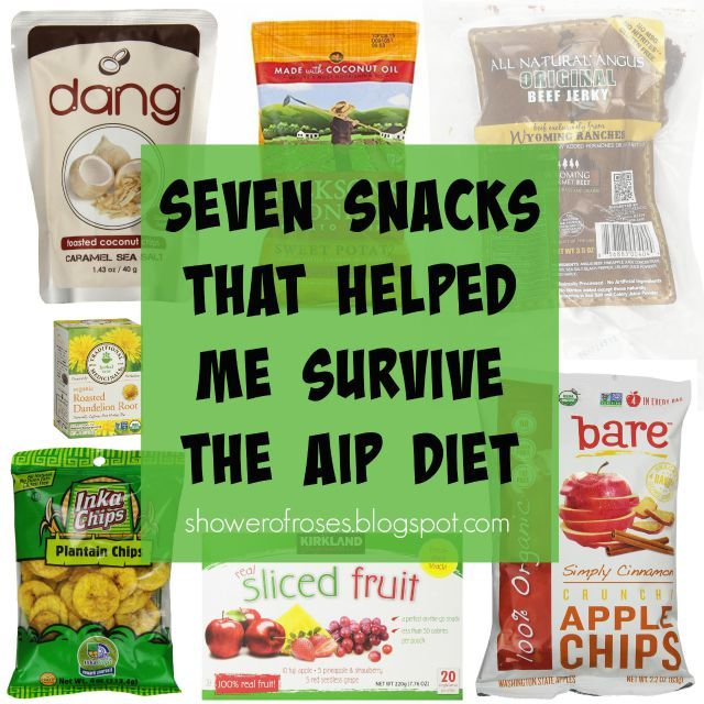 Shower of Roses: The Autoimmune Protocol :: Seven Snacks That Helped Me Survive the AIP Diet