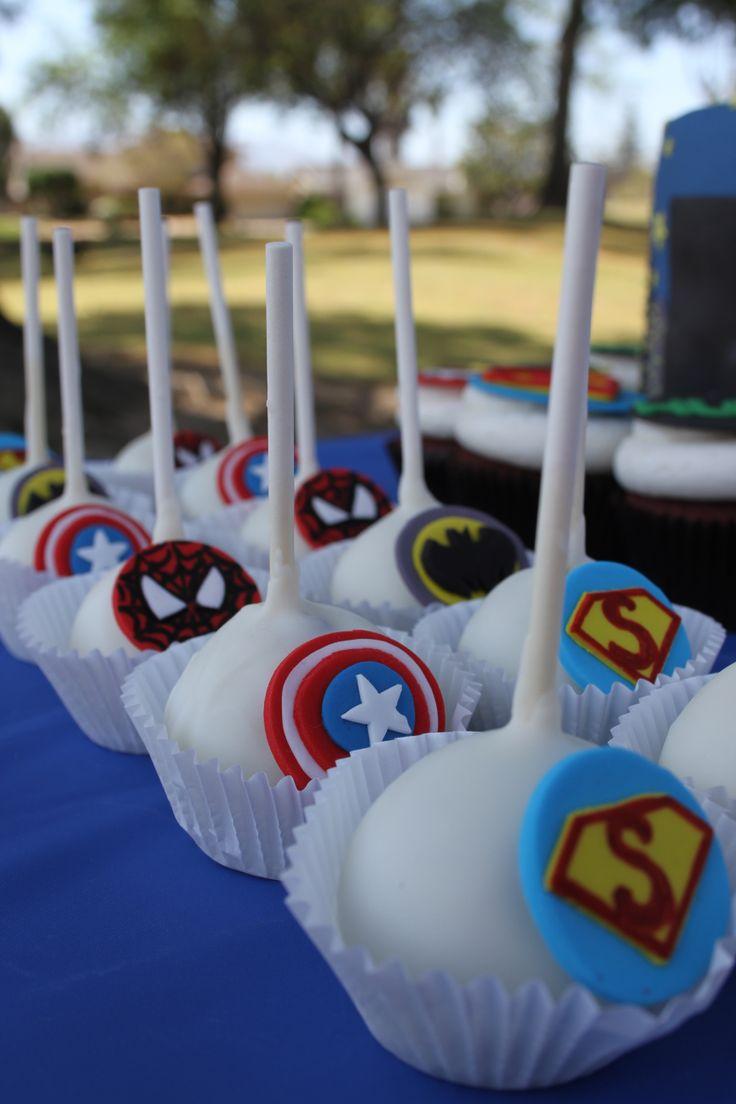 Marvel Heroes Nd Birthday Cake