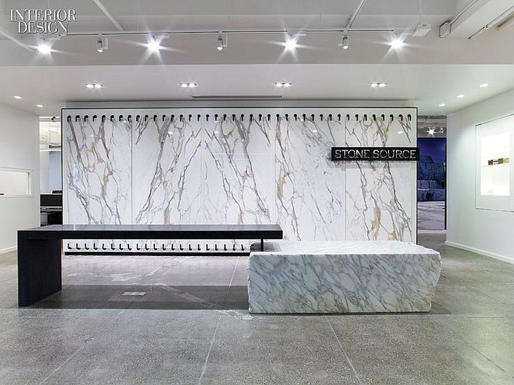The Story Of Stone Stone Source Showroom By Gensler