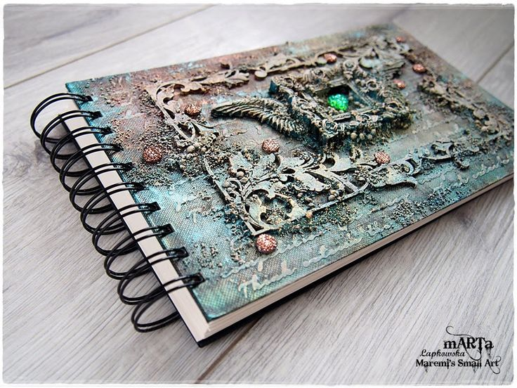 Steampunk Mixed Media Journal Cover Tutorial Diana Day