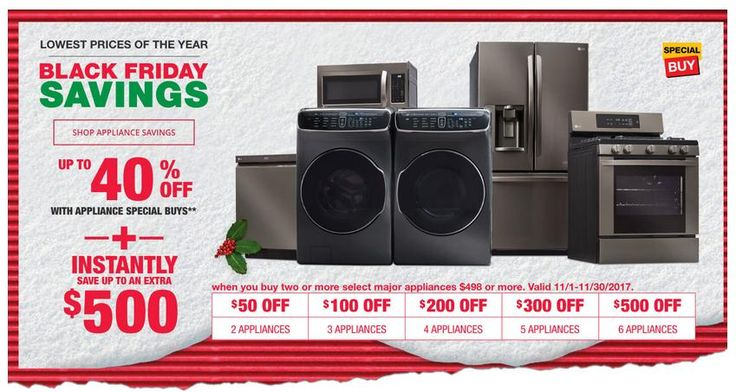 Home Depot Black Friday Savings! Up to 40% Off With Appliance Special Buys. #homedepot #blackfriday #homedepotblackfriday #home