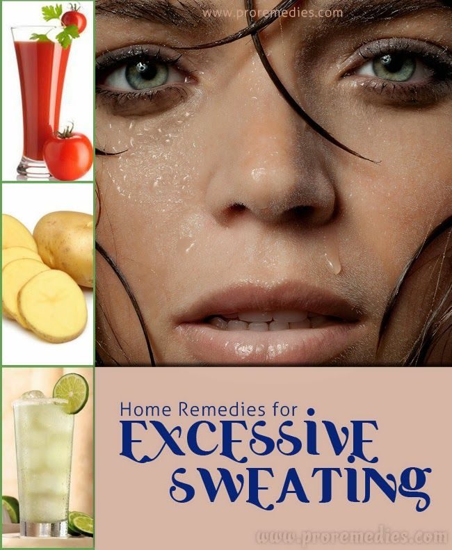 Man Discovers Cure for Excessive Sweating | Celebrity ...