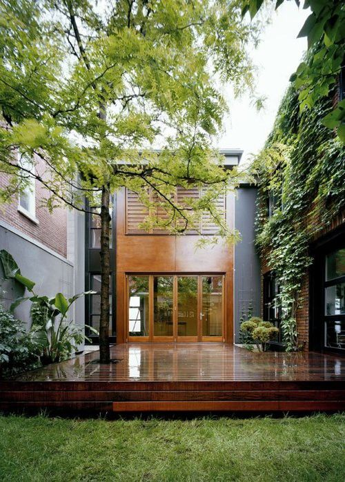 25 best enclosed decks ideas on pinterest screened in for Enclosed courtyard house plans