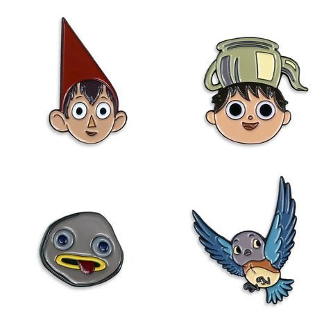 Over The Garden Wall Enamel Pin Set With Images Over The