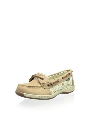 50% OFF Eastland Women's Sunrise Boat Shoe (Tan Flower)