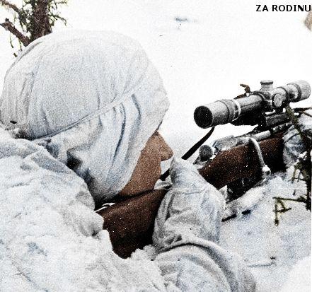 Soviet sniper in Finland | Finnish Front ww2 | Za Rodinu | Flickr - pin by Paolo Marzioli