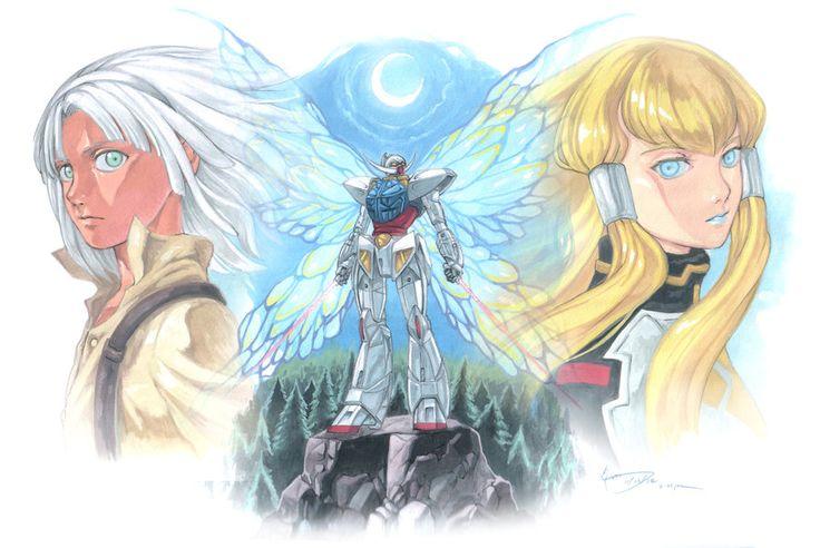 Turn A Gundam: Loran, Dianna and the Butterfly by Nick-Ian.deviantart.com on @DeviantArt