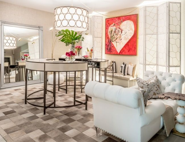 heart painting in a lounge by wolf designs for the 2016 hampton designer showhouse sponsored by traditional home to benefit southampton hospital