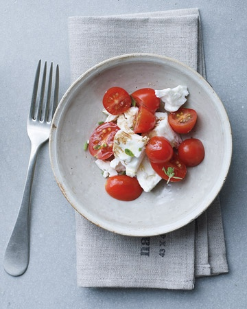 Cherry Tomato and Feta Salad, Wholeliving.com
