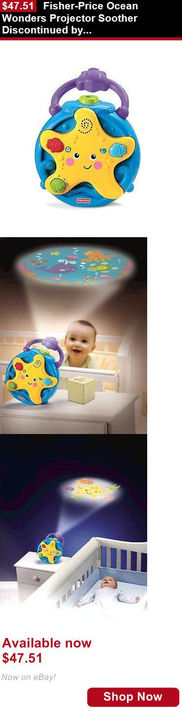Crib Toys: Fisher-Price Ocean Wonders Projector Soother Discontinued By Manufacturer BUY IT NOW ONLY: $47.51