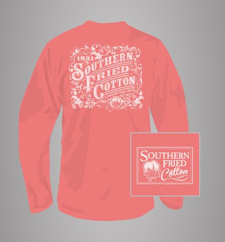 Cover Long Sleeve, Southern Fried Cotton