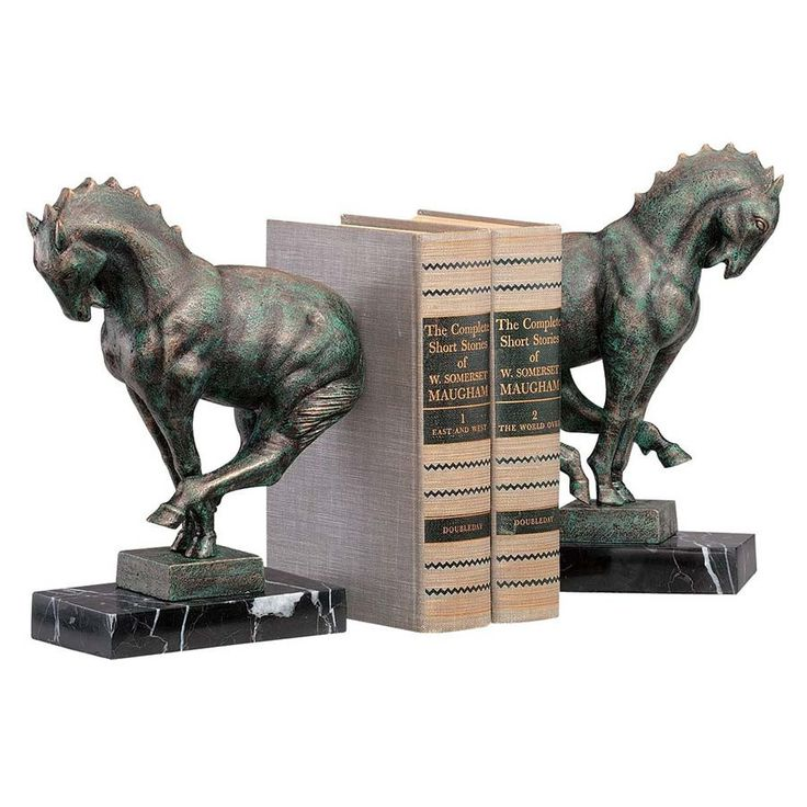 511 best Cool Unusual Bookends images on Pinterest