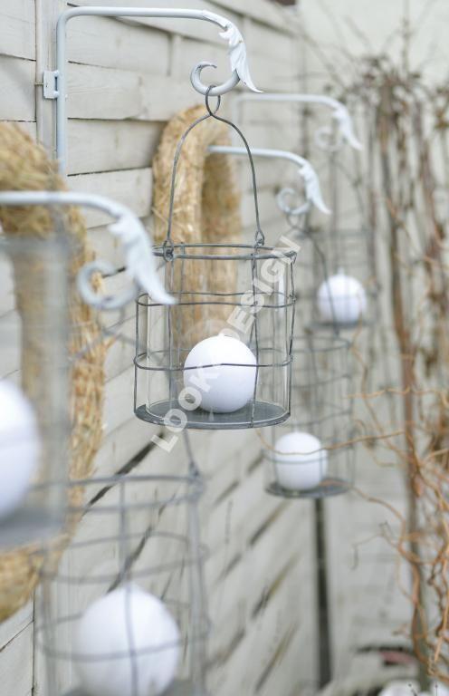 DELIKATNY METALOWY LAMPION LOFT VINTAGE BELLDECO
