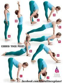 Fitness Guru: Article # 537. Cardio Yoga Poses