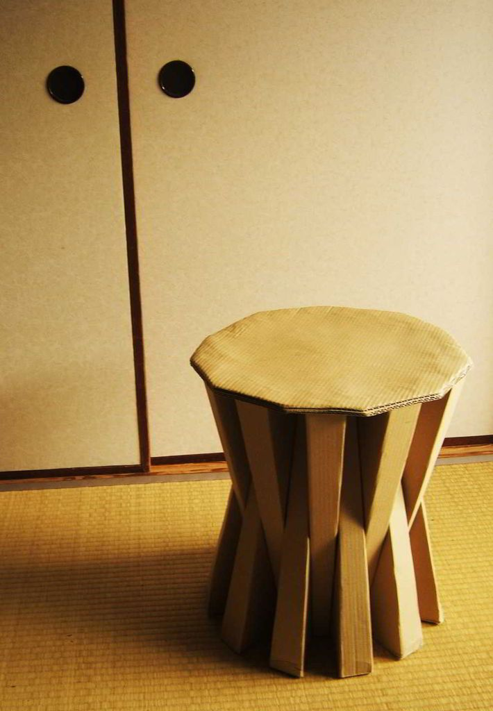 cardboard stools tables woodworking projects plans