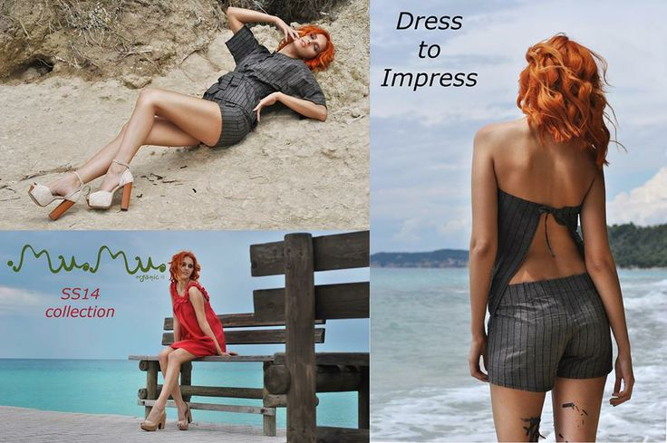Dress to Impress!!!!! SS14 collection by MuMu organic! Shop online here :http://www.mumusyros.gr/e-shop/collections/spring-summer-2014.html