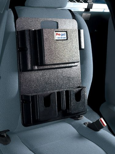 ProGard Police Equipment Seat Organizer The D2950 Allows You To Store All Types Of Car Accessories With Organization Found At FleetSafety