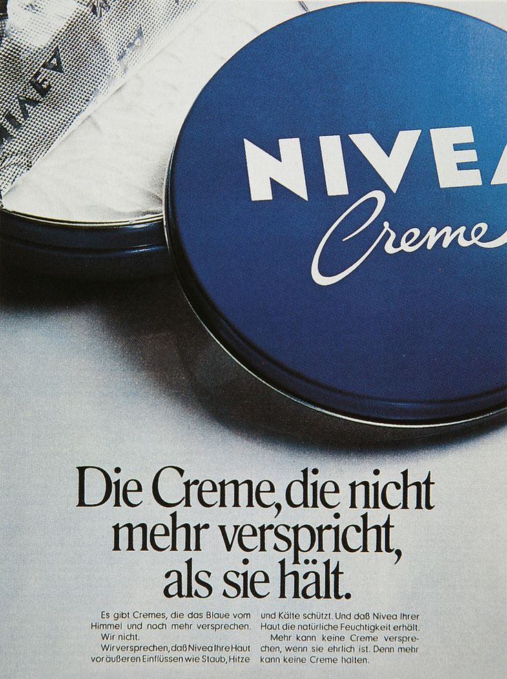 advertising and nivea The outcry was widespread against the ad for a nivea deodorant product, which  was embraced by some white supremacist accounts.