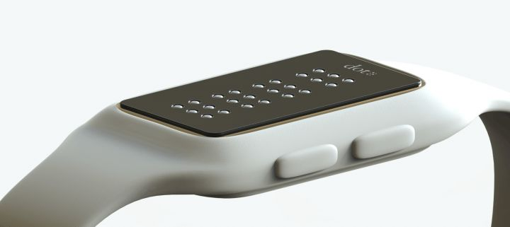 Active Braille technology used to be bulky and expensive. Now, Dot is putting it on your wrist for less than an Apple Watch.
