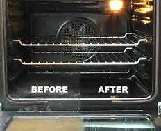 To reduce fire hazards and promote the longevity of your gas range, clean your oven base! Excess food and oil is a fire hazard and doesn't add flavor!