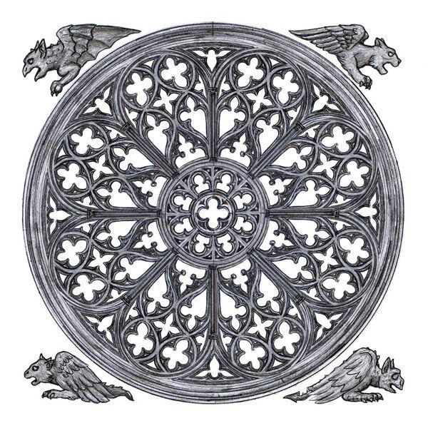 Rose Window Design