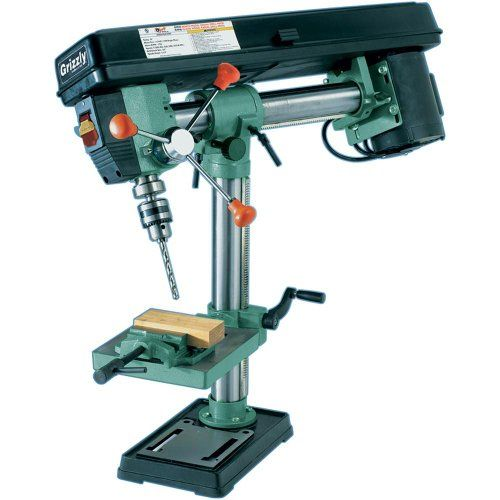 Grizzly G7945 5 Speed Bench-Top Redial Drill Press – Guide and Review