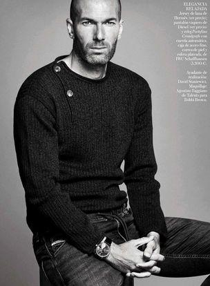 Zidane 2015 Niko for Vogue Espana