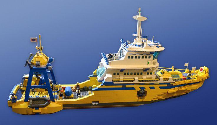Ultimate LEGO Ship #ship #moc | LEGO boats, ships ...