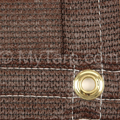 6' x 50' Fence Screen - Brown Economy Privacy Fence Screen