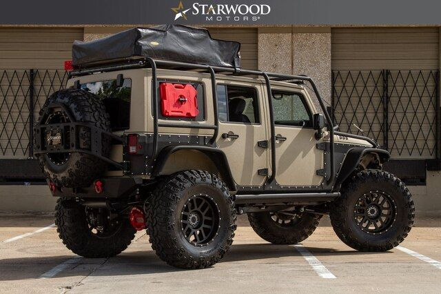 2017 Jeep Wrangler Unlimited The Nomad Custom Exo Cage Teraflex 6