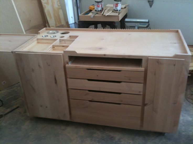INSIDE THE ARTIST'S STUDIO: A better kind of Taboret layout