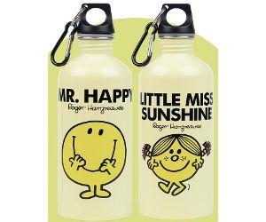 Mr Men Water Bottles