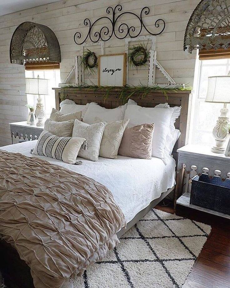 adorable and soothing shabby chic decor ideas for bedrooms