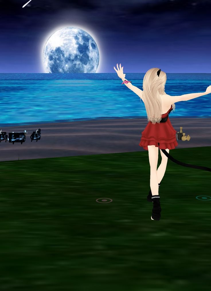 Captured Inside IMVU - Join the Fun! we can dance under the moonlight :)